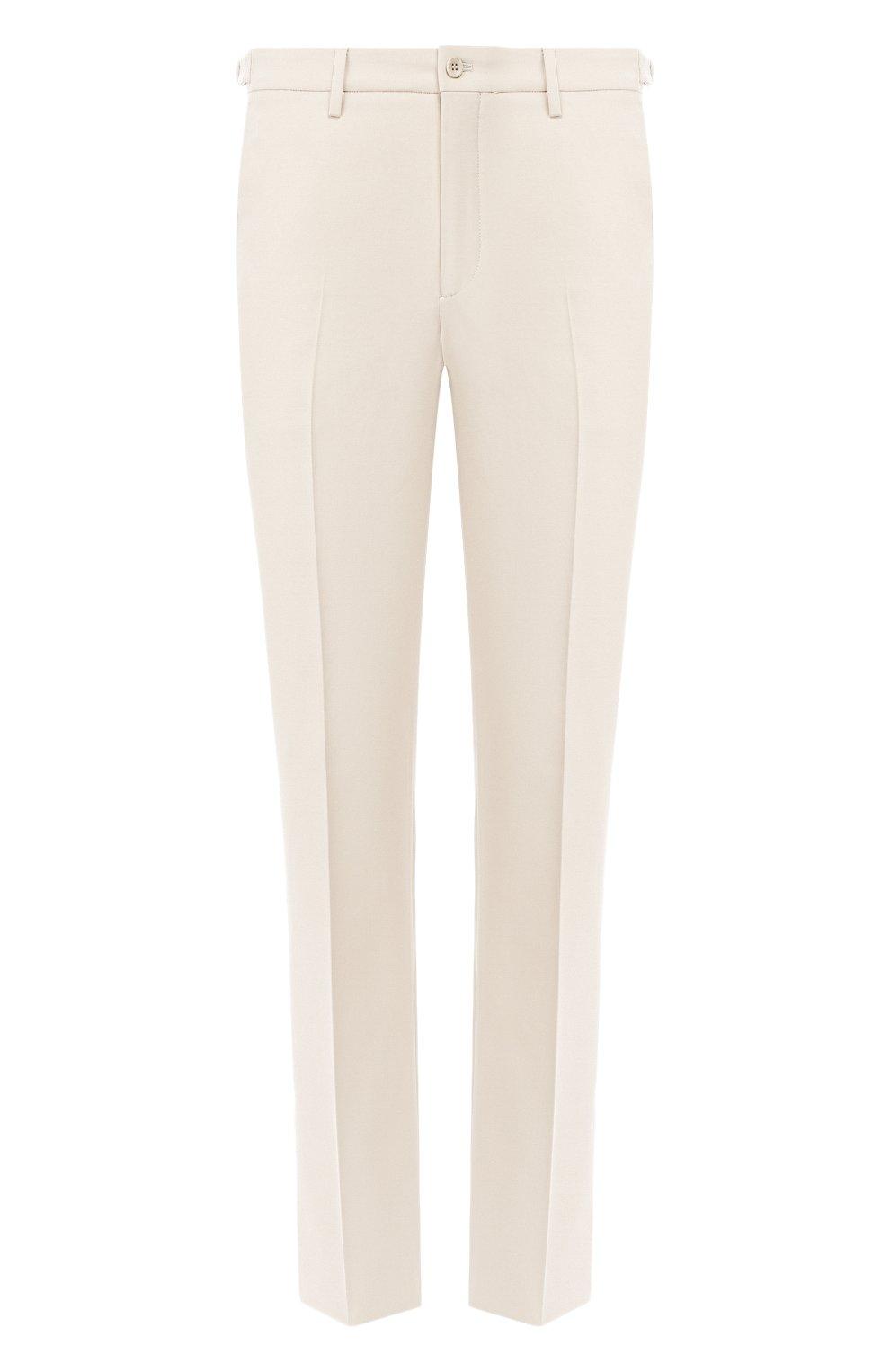 Мужские хлопковые брюки LORO PIANA кремвого цвета, арт. FAL0982 | Фото 1