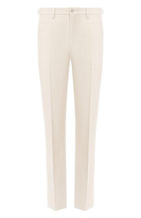 Мужской хлопковые брюки LORO PIANA кремвого цвета, арт. FAL0982 | Фото 1