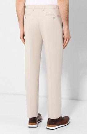 Мужские хлопковые брюки LORO PIANA кремвого цвета, арт. FAL0982 | Фото 4