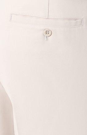 Мужские хлопковые брюки LORO PIANA кремвого цвета, арт. FAL0982 | Фото 5