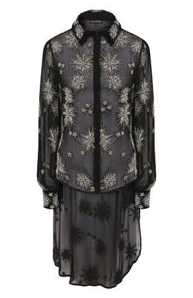 Женская блузка из вискозы RETROFÊTE черного цвета, арт. HL20-2538   Фото 1