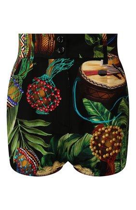 Женские шелковые шорты DOLCE & GABBANA разноцветного цвета, арт. FTBUNT/IS1D2 | Фото 1