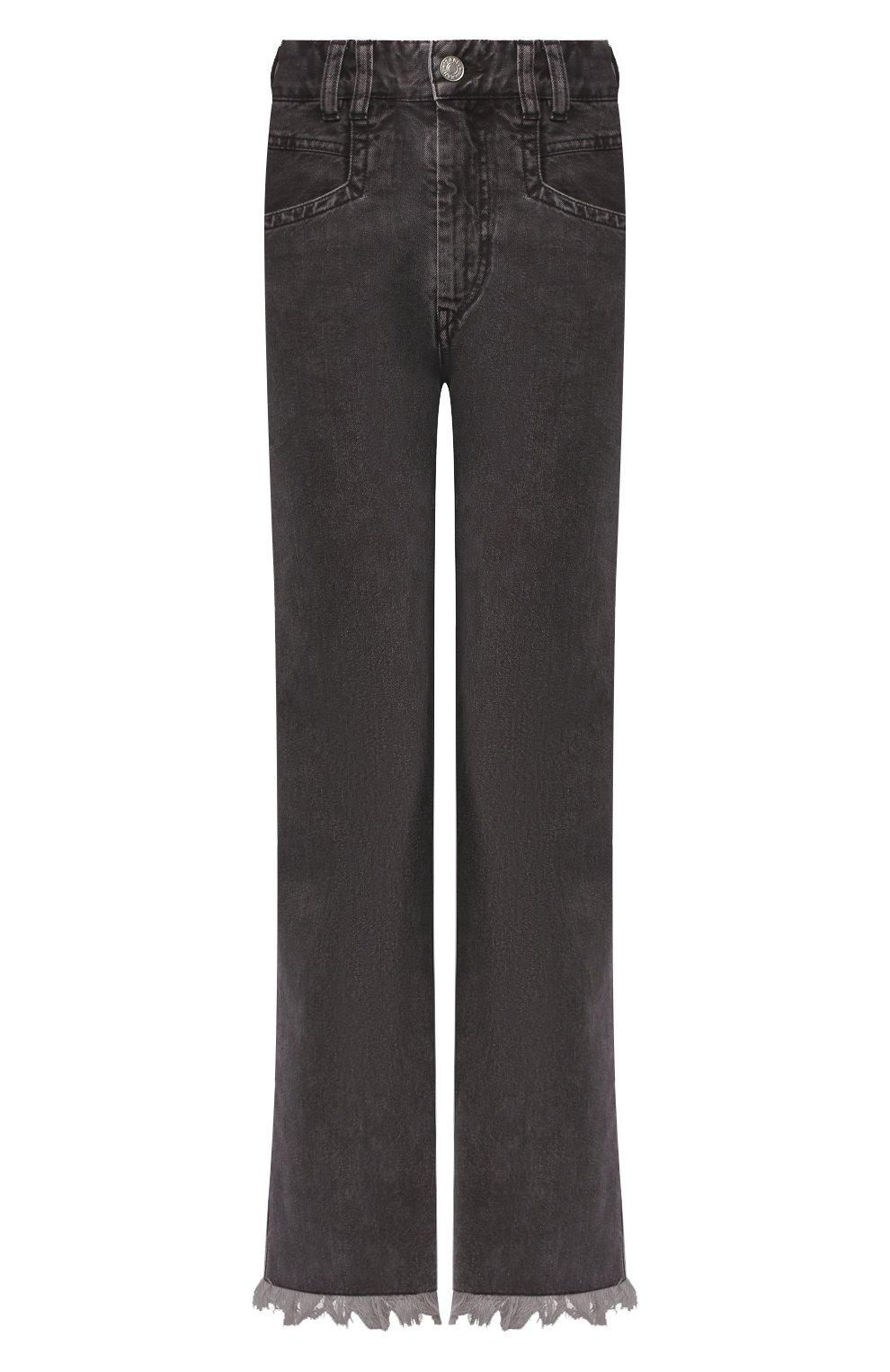 Женские джинсы ISABEL MARANT темно-серого цвета, арт. PA1649-20E010I/ELVIRA | Фото 1