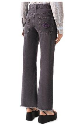 Женские джинсы ISABEL MARANT темно-серого цвета, арт. PA1649-20E010I/ELVIRA | Фото 4