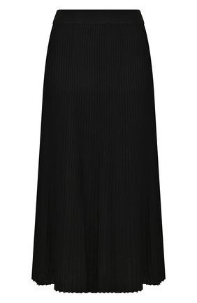 Женская юбка из вискозы MICHAEL MICHAEL KORS черного цвета, арт. MH97F32BFD   Фото 1