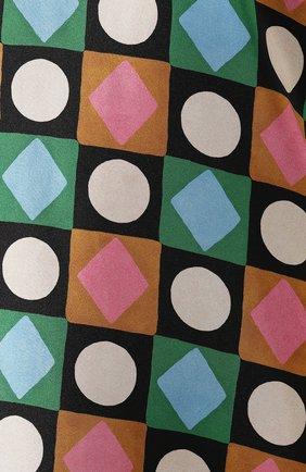 Женское шелковое платье LA DOUBLEJ разноцветного цвета, арт. DRE0001-SIL001-CHA0001_ED20 | Фото 5