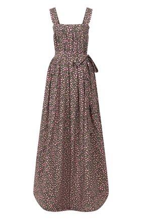 Женское хлопковое платье LA DOUBLEJ разноцветного цвета, арт. DRE0147-C0T001-DAI0001_ED20 | Фото 1
