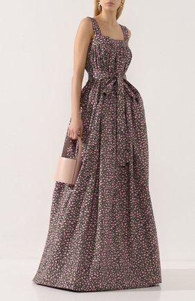 Женское хлопковое платье LA DOUBLEJ разноцветного цвета, арт. DRE0147-C0T001-DAI0001_ED20 | Фото 2