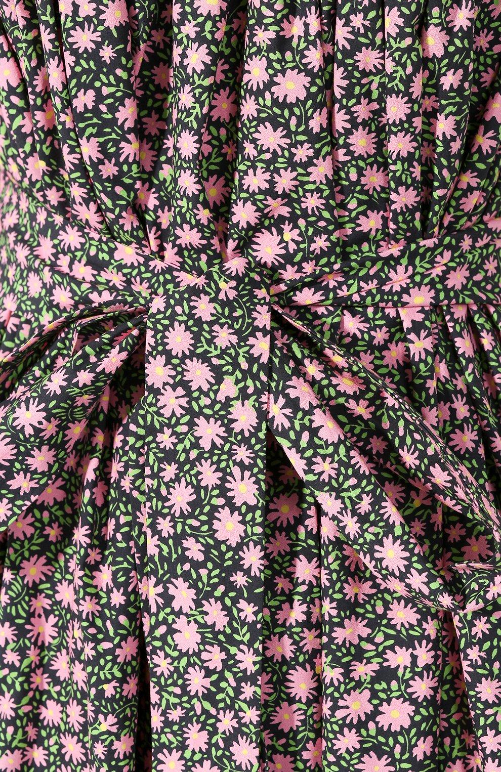 Женское хлопковое платье LA DOUBLEJ разноцветного цвета, арт. DRE0147-C0T001-DAI0001_ED20 | Фото 5