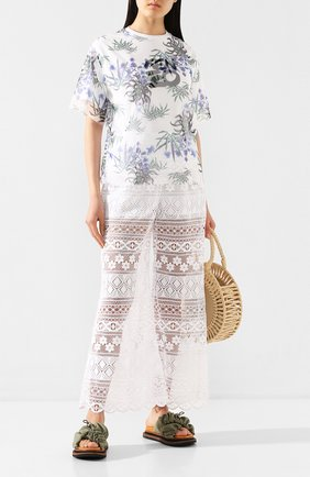 Женские брюки VIVETTA белого цвета, арт. 20E V2S0/B031/4850 | Фото 2