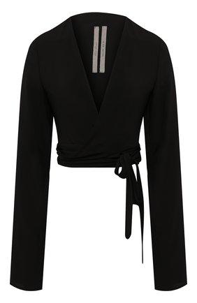Женская топ RICK OWENS черного цвета, арт. R020S1794/CC   Фото 1