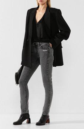 Женская топ из вискозы RICK OWENS черного цвета, арт. R020S1595/JJ   Фото 2