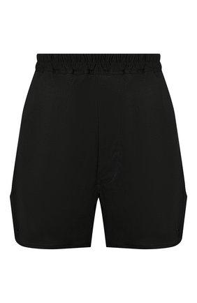 Женские шорты из вискозы RICK OWENS черного цвета, арт. R020S1323/JJ   Фото 1