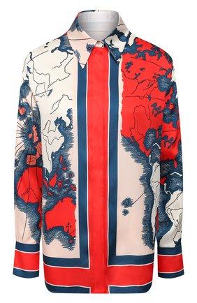 Женская рубашка VICTORIA, VICTORIA BECKHAM разноцветного цвета, арт. 2120WSH000636A | Фото 1
