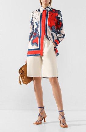 Женская рубашка VICTORIA, VICTORIA BECKHAM разноцветного цвета, арт. 2120WSH000636A | Фото 2
