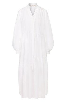 Женское хлопковое платье DOROTHEE SCHUMACHER белого цвета, арт. 748201/P0PLIN P0WER | Фото 1