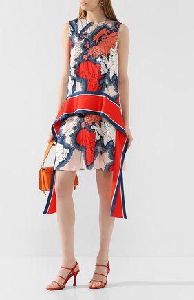Женское платье VICTORIA, VICTORIA BECKHAM разноцветного цвета, арт. 2120WDR000489A | Фото 2