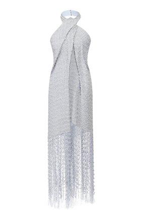 Женское платье JACQUEMUS голубого цвета, арт. 201DR15/26334 | Фото 1
