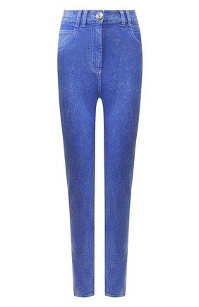 Женские джинсы BALMAIN голубого цвета, арт. TF05460/D035 | Фото 1