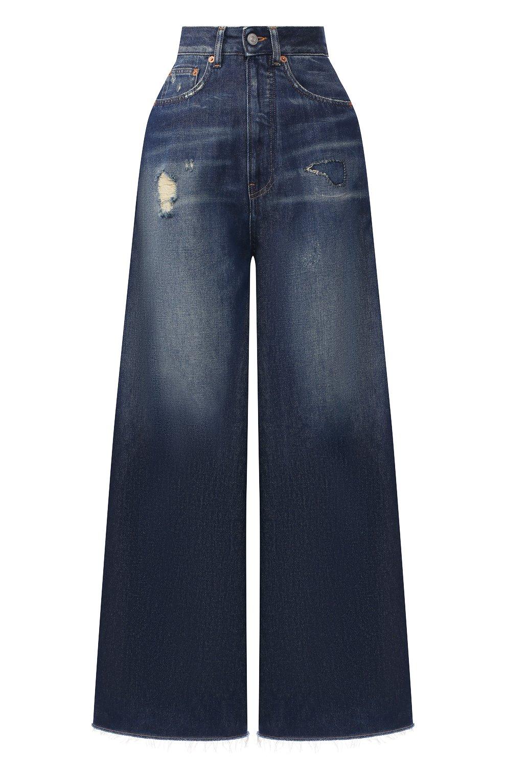 Женские джинсы MM6 синего цвета, арт. S62LB0041/S30460 | Фото 1