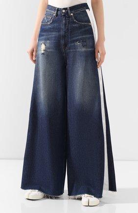 Женские джинсы MM6 синего цвета, арт. S62LB0041/S30460 | Фото 3
