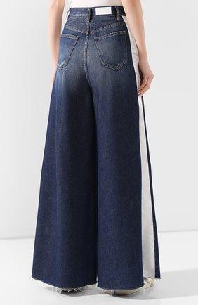 Женские джинсы MM6 синего цвета, арт. S62LB0041/S30460 | Фото 4