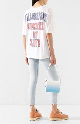 Женская футболка FILLES A PAPA белого цвета, арт. CAMP JERSEY | Фото 2