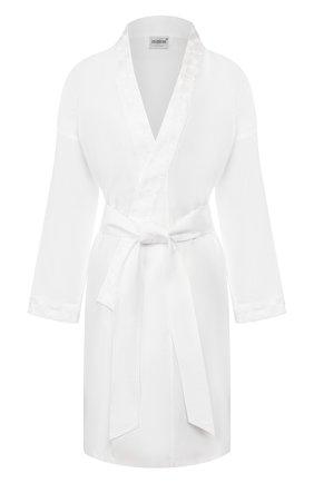 Женский хлопковый халат CELESTINE белого цвета, арт. 70000710/JUPITER KURZMANTEL | Фото 1
