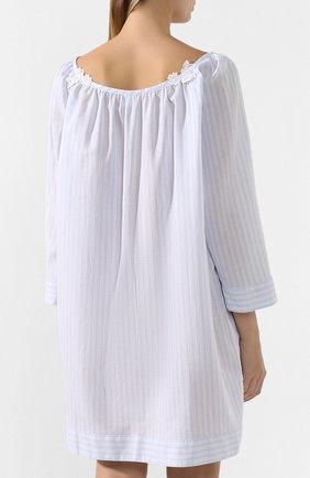 Женская хлопковая сорочка CELESTINE голубого цвета, арт. 20000729/LYNN-1 HEMD | Фото 4