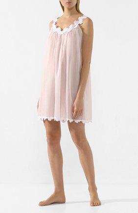 Женская хлопковая сорочка CELESTINE розового цвета, арт. 30002505/PALACE-1 BD   Фото 2