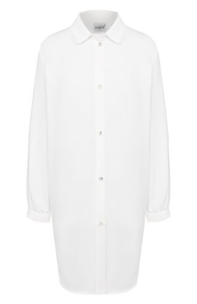 Женская хлопковая сорочка CELESTINE белого цвета, арт. 20000743/SARA-2 HEMD   Фото 1