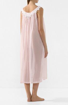 Женская хлопковая сорочка CELESTINE розового цвета, арт. 10002567/SCARLETT-1 NH | Фото 4
