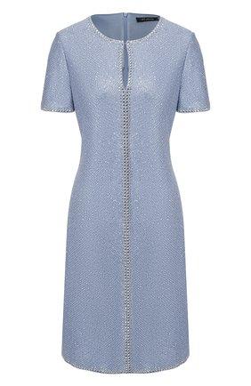 Женское платье ST. JOHN голубого цвета, арт. K12Z031 | Фото 1