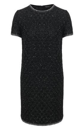 Женское мини-платье ST. JOHN черного цвета, арт. K15Z021 | Фото 1
