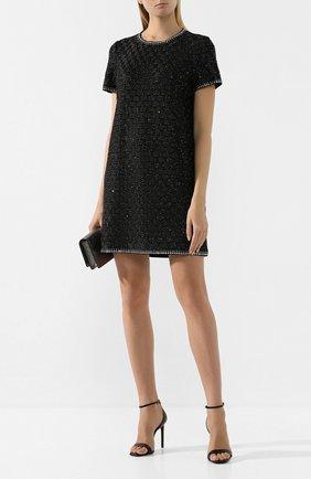 Женское мини-платье ST. JOHN черного цвета, арт. K15Z021 | Фото 2