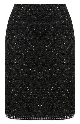 Женская юбка ST. JOHN черного цвета, арт. K75Z011 | Фото 1