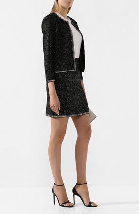 Женская юбка ST. JOHN черного цвета, арт. K75Z011 | Фото 2
