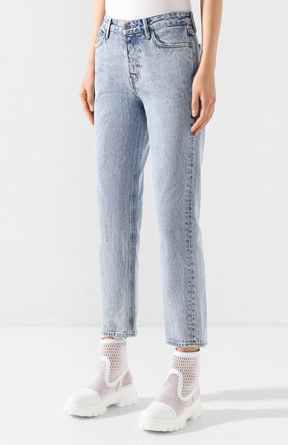 Женские джинсы GRLFRND голубого цвета, арт. GF41388501305 | Фото 3