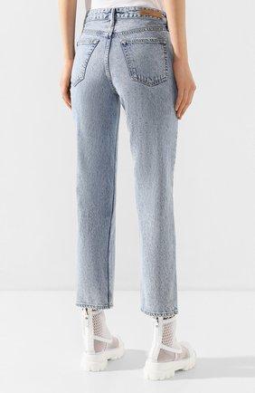 Женские джинсы GRLFRND голубого цвета, арт. GF41388501305 | Фото 4