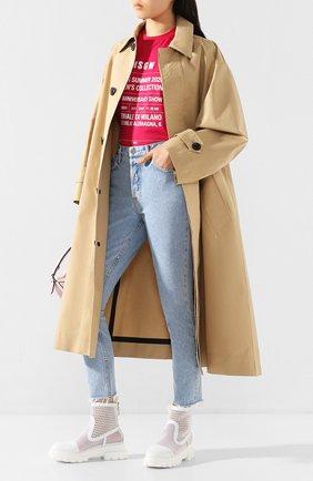 Женские джинсы GRLFRND голубого цвета, арт. GF41688501299 | Фото 2