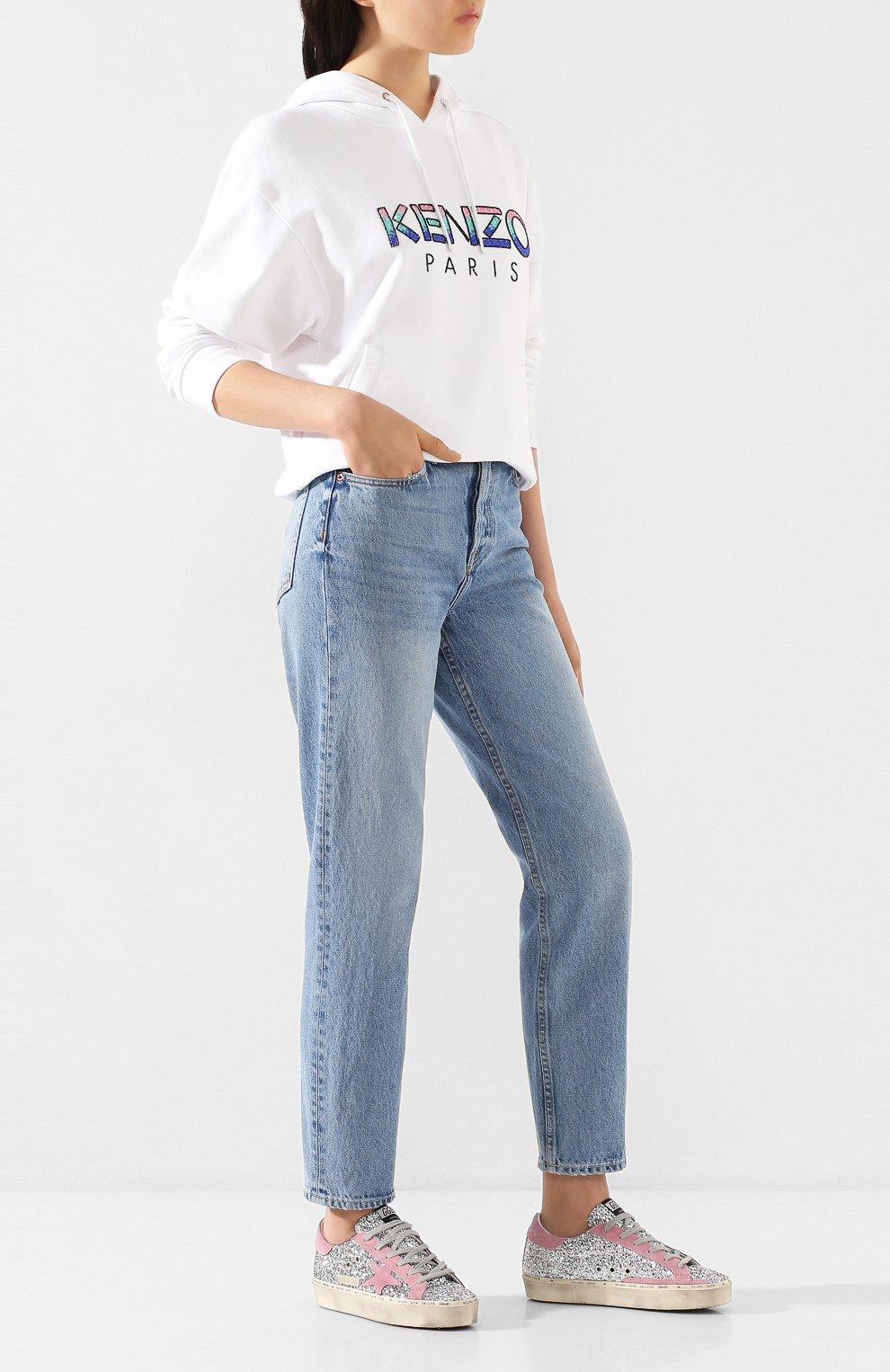 Женские джинсы GRLFRND голубого цвета, арт. GF41768501307   Фото 2