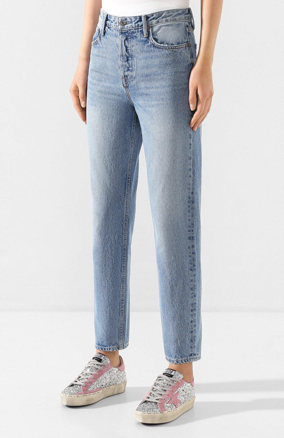 Женские джинсы GRLFRND голубого цвета, арт. GF41768501307   Фото 3