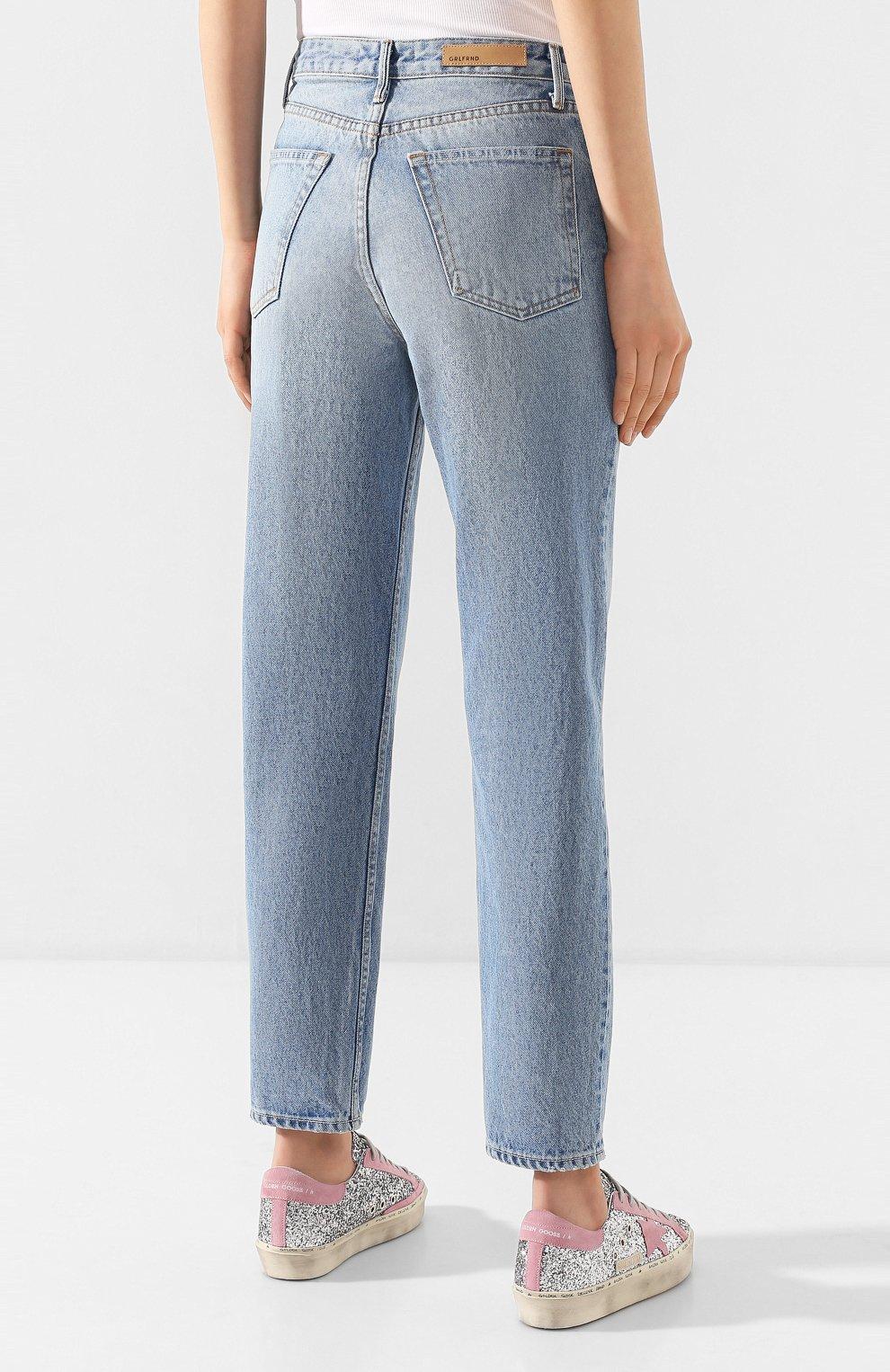 Женские джинсы GRLFRND голубого цвета, арт. GF41768501307   Фото 4