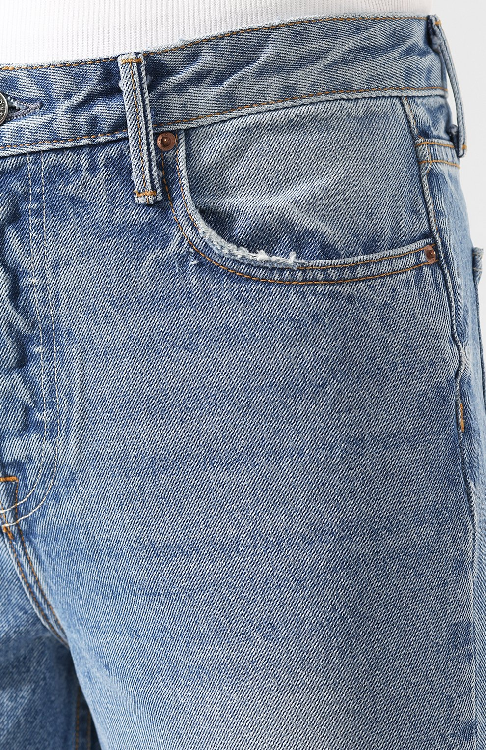 Женские джинсы GRLFRND голубого цвета, арт. GF41768501307   Фото 5
