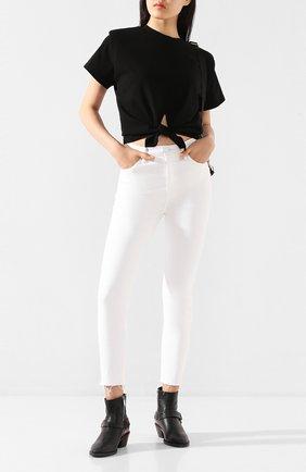 Женские джинсы GRLFRND белого цвета, арт. GF42838761317 | Фото 2
