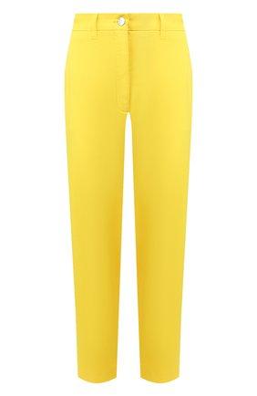 Женские хлопковые брюки TWO WOMEN IN THE WORLD желтого цвета, арт. LAUREN/YEAT3 | Фото 1