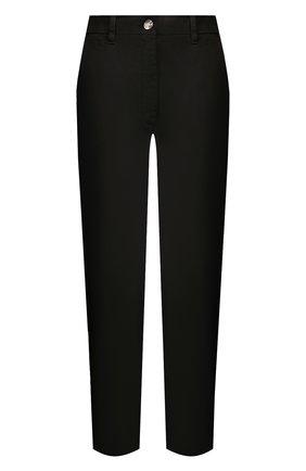 Женские хлопковые брюки TWO WOMEN IN THE WORLD черного цвета, арт. LAUREN/YEAT3 | Фото 1