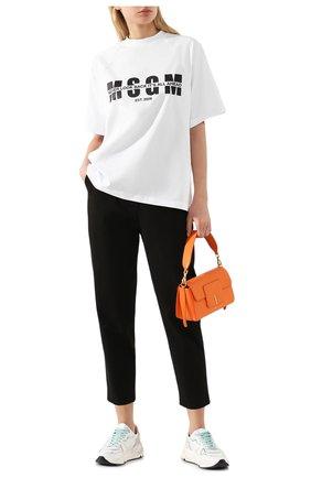 Женские хлопковые брюки TWO WOMEN IN THE WORLD черного цвета, арт. LAUREN/YEAT3 | Фото 2