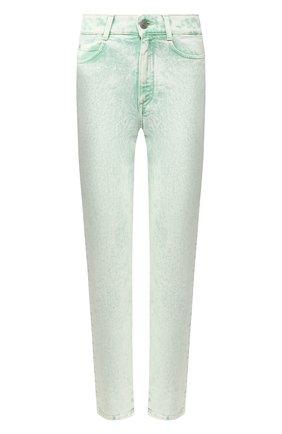 Женские джинсы STELLA MCCARTNEY светло-зеленого цвета, арт. 372773/SNH81 | Фото 1