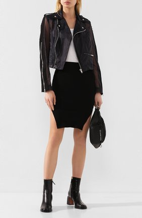 Женская куртка ISABEL BENENATO черного цвета, арт. DW101S20 | Фото 2